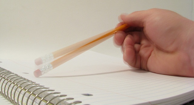 Tapping pencil