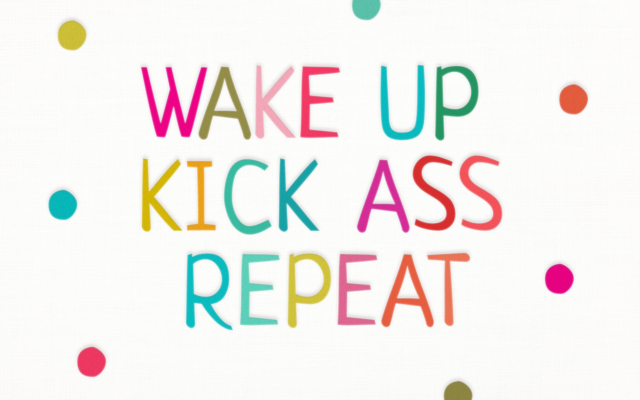 Wake Up Desktop Wallpaper More Than Motivation Study