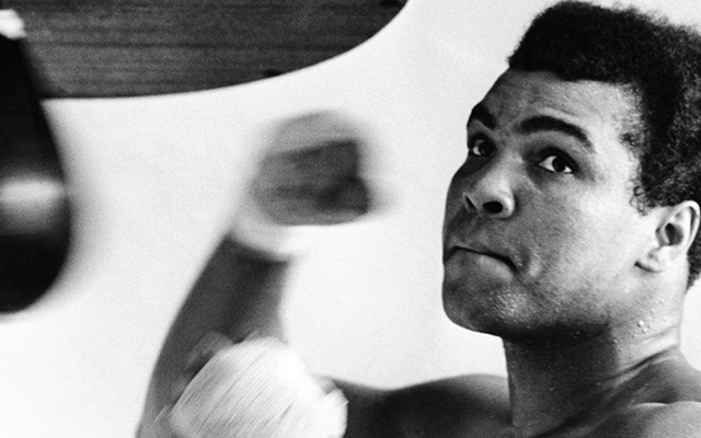 channel your inner Mohammed Ali