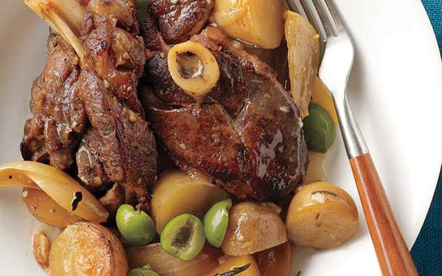 lamb, potato and olive recipe