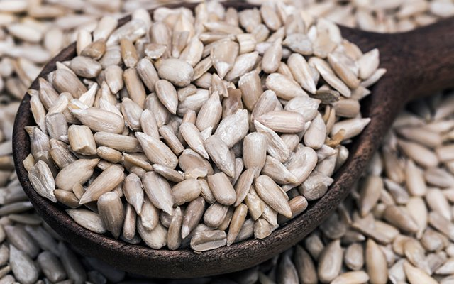sunflower seeds can help cure a cold