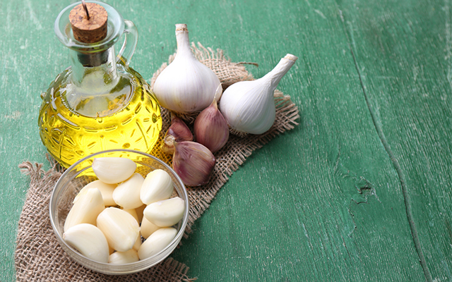 garlic can cure a cold