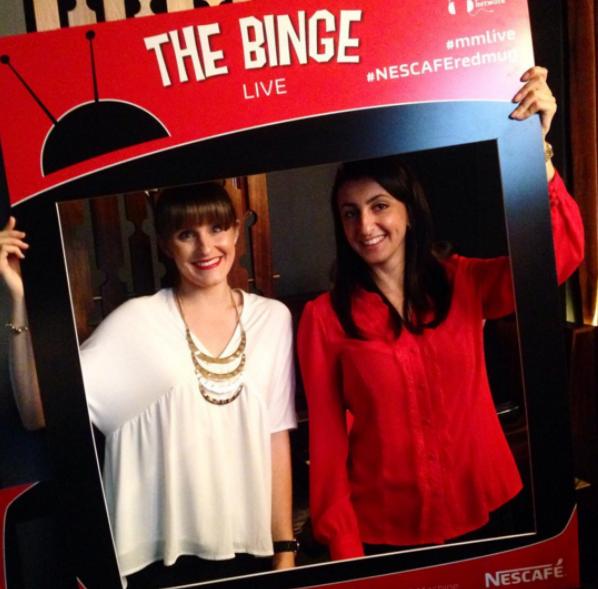 The Binge - Live podcast recording