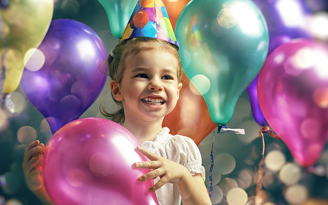 plan kids party for birthday