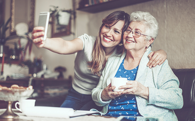 Hold off loneliness in the elderly