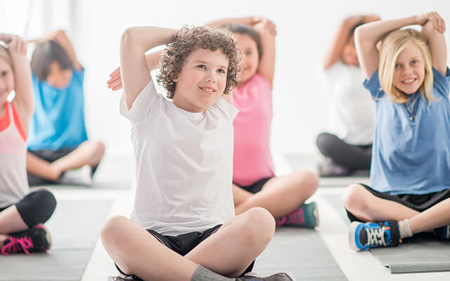 yoga and childhood education