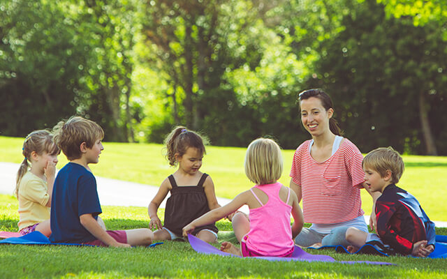 yoga teaching and childhood education