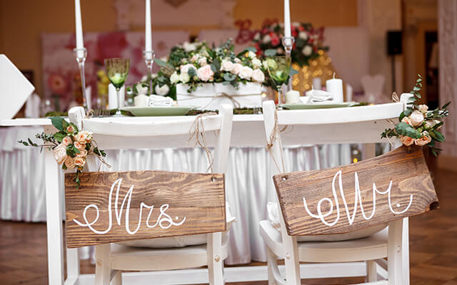 Event planner weddings