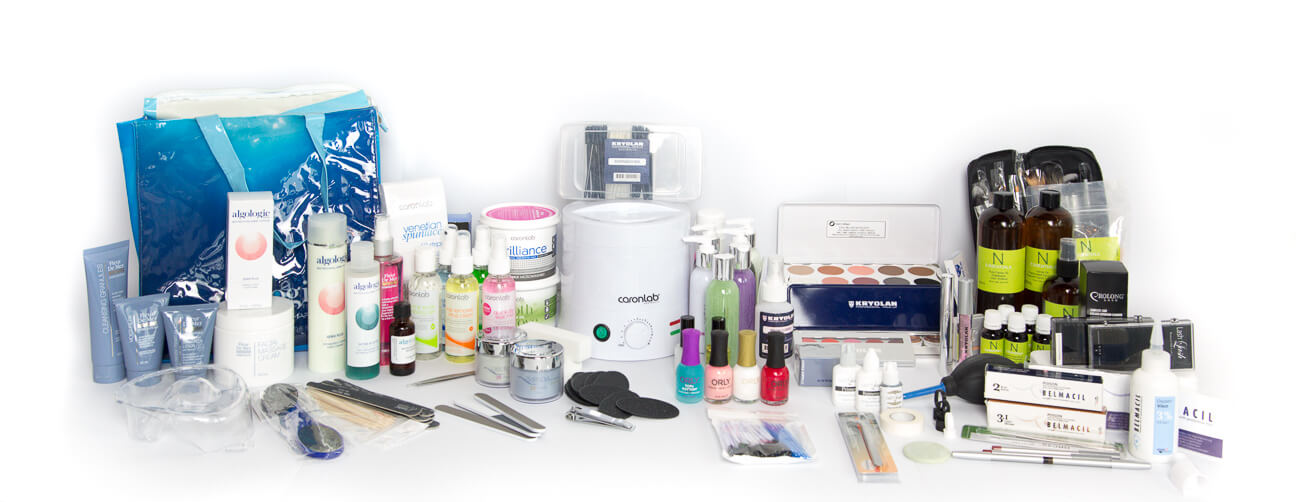 how to study a practical course online with beauty kits