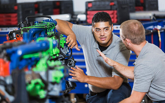 how to study a practical course online automotive