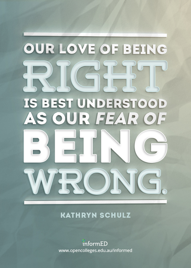 Overcoming the Fear of Being Wrong: 20 Ways To Help Your Students - InformED