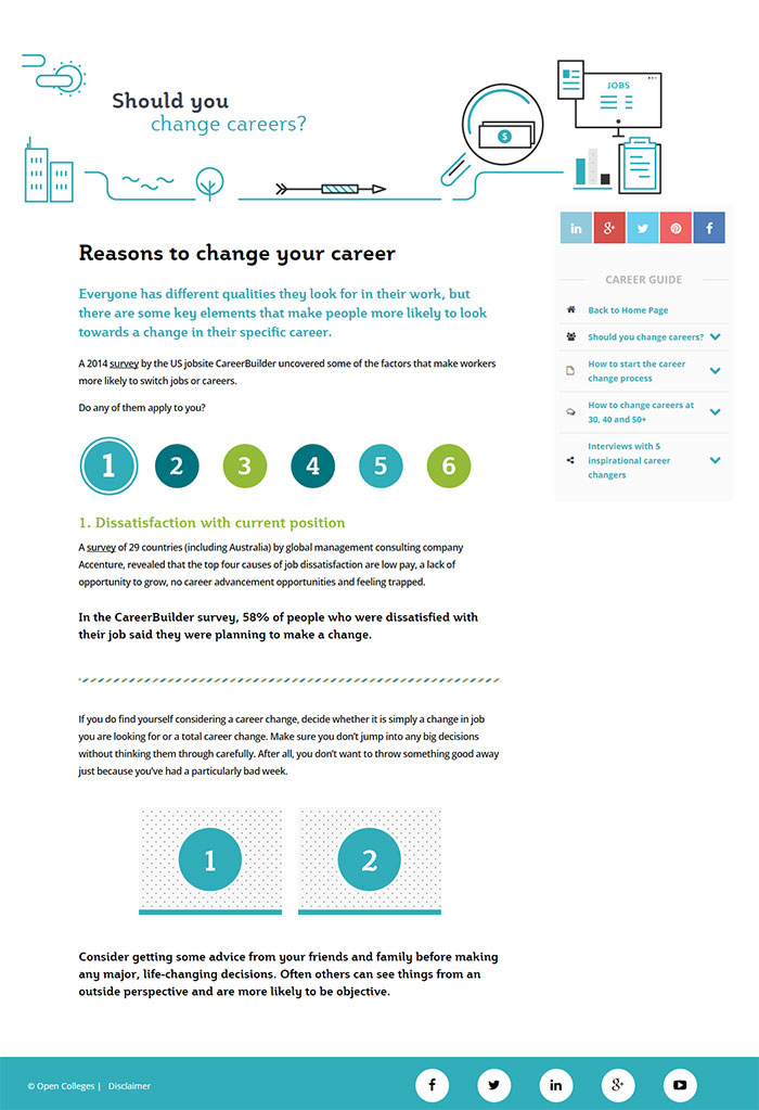 Reasons to Change your Career